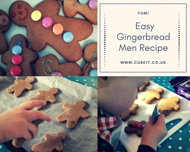 Easy Gingerbread Men Recipe